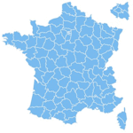 Carte de France des locations de Vacances