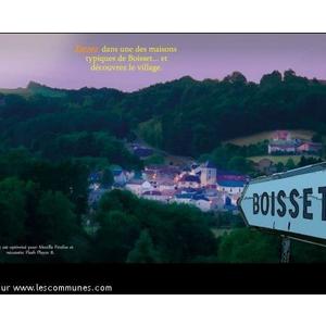 Voici une copie d écran du site de Boisset (Cantal-Auvergne), pour remplacer la vignette anonyme sur vos pages.   Bravo pour la qualité de votre site en général et de la page consacrée à la commune de Boisset (15600) en particulier. $  Cordialement.