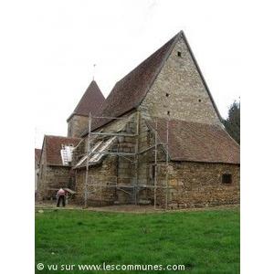 église de St-Maur en restauration