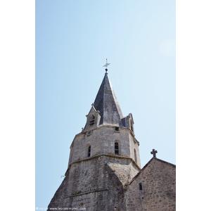 le clocher église Saint Andre