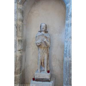 la statue église Saint Andre