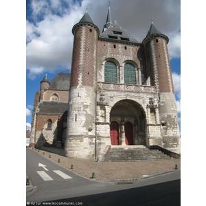L église Saint Martin de Montcornet