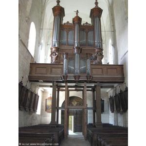 L orgue de l église Saint Martin Montcornet(02340)