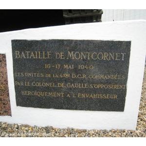 Bataille de Montcornet(02340) 16-17 mai 1940