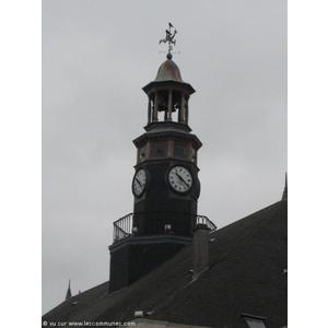 Le clocher de l hôtel de ville