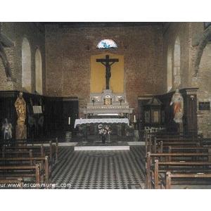 Intérieur de l église.