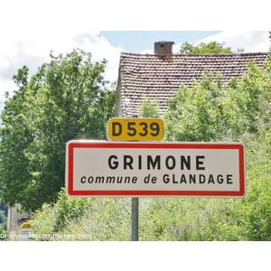 grimone communes de glandage (26410) - GLANDAGE