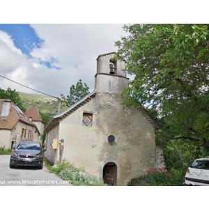 grimone (26410) église saint Jean Baptiste  - GLANDAGE