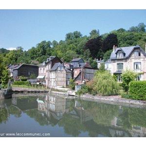 Commune pont audemer mairie et office de tourisme es for Haute normandie tourisme