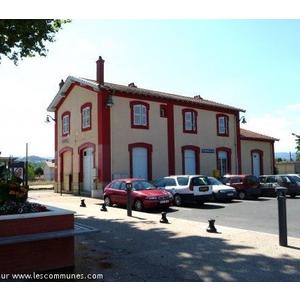 La gare de St Romain le Puy