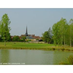 Vue du village depuis l aire de loisirs