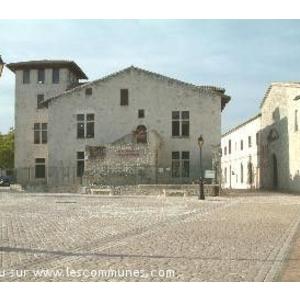 La ville de Casteljaloux.