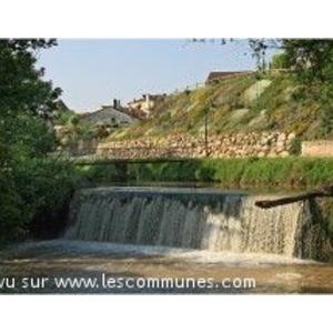 Chute du Tolzac au moulin de Fauillet