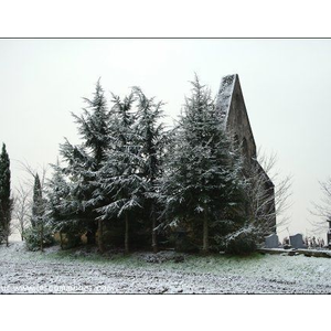06.01.2009. Chapelle de Bistauzac sous la neige.