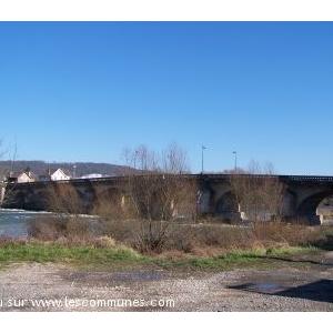le pont de pont saint vincent