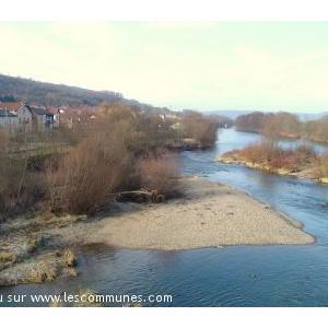la Moselle vue du pont