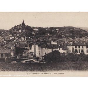 Commune de CHAMPEIX