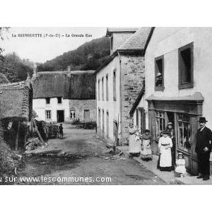 carte postale ancienne de la guinguette