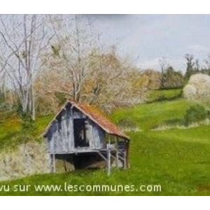 Grange rte de Mourenx Peinture JCSB