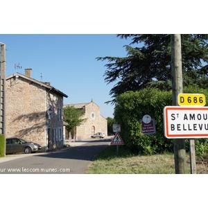 Commune de ST AMOUR BELLEVUE