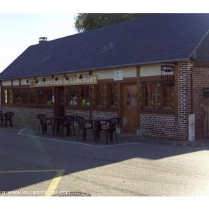"""le bar brasserie du village de gancourt st etienne labellises """"cafe de pays"""" en 2008  toujours en activitee actuellement ils recoit des touristes,des randonneurs,des entreprises, et organise differentes soirees a themes www.restodegancourt.com pour faire"""