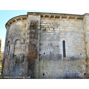 arrière du temple,  abside