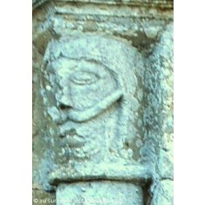 Détail roman du temple