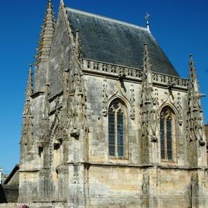La  chapelle Jean Boucard , style gothique.