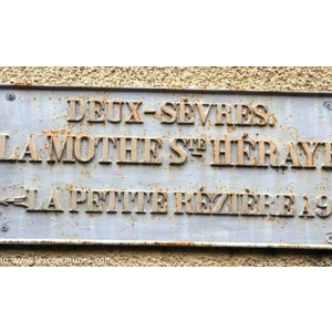 Commune de LA MOTHE ST HERAY
