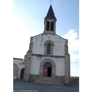 L église St Martin reconstruction de 1875
