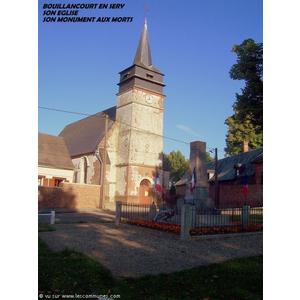 Commune de BOUILLANCOURT EN SERY