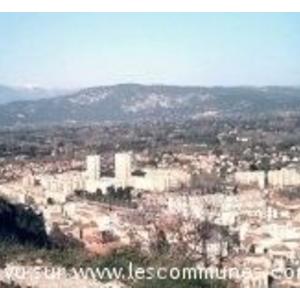 Vue de Cavaillon depuis la Colline St Jacques