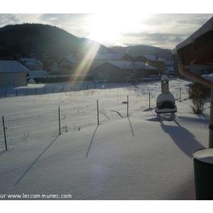 40cm de neige le 19/12/2010.