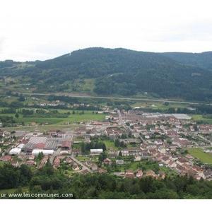 Vue de la Commune de Rupt sur Moselle