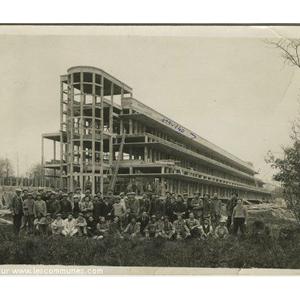 la Boucaille 1932 Batiment des femmes
