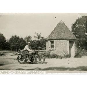 bureau chantier de construction de sanatorium 1932